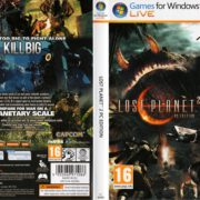Lost Planet 2 (2010) EU PC DVD Cover & Labels