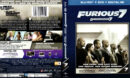 FURIOUS 7 (2015) BLU-RAY COVER & LABELS