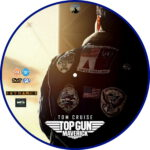 Top Gun: Maverick (2020) R2 Custom DVD Label