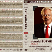 Donald Sutherland Film Collection - Set 24 (2015-2019) R1 Custom DVD Covers