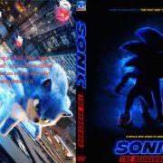 Sonic the Hedgehog (2020) Custom DVD Cover & Label