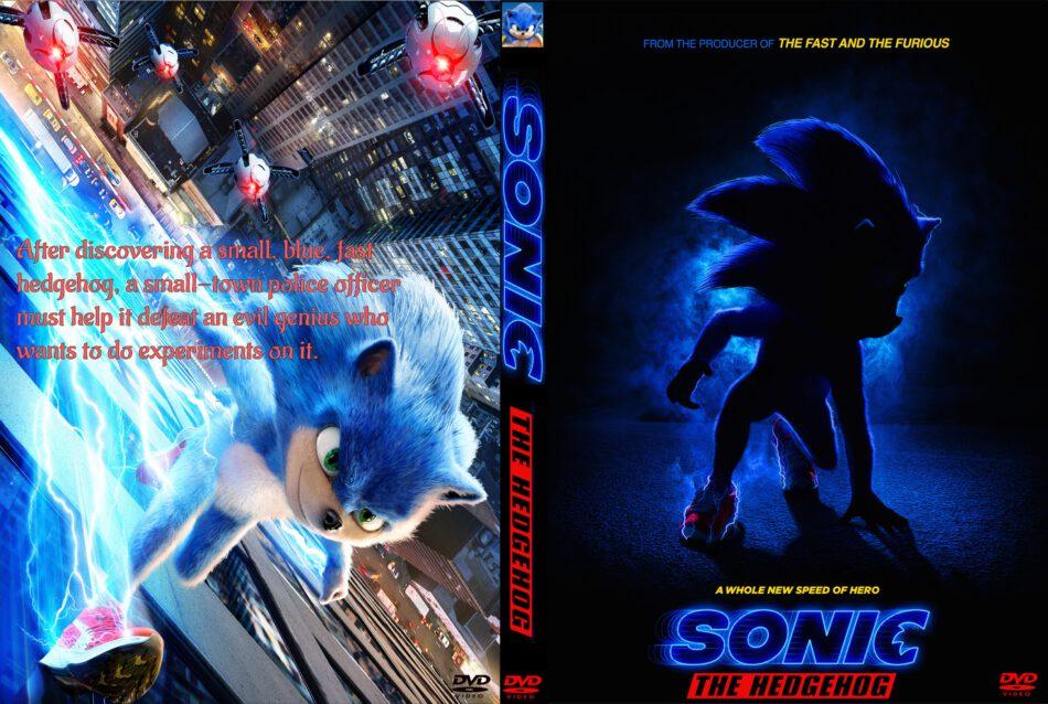 Sonic The Hedgehog 2020 Custom Dvd Cover Label Dvdcover Com