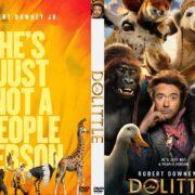 Dolittle (2020) Custom DVD Cover