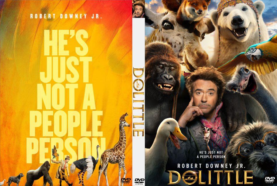 Dolittle 2020 Custom Dvd Cover Dvdcover Com