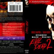 Evil Dead 2 (1987) Blu-Ray Cover & Label