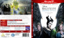 MALEFICENT MISTRESS OF EViL 3D (2019) CUSTOM BLU-RAY COVER & LABEL