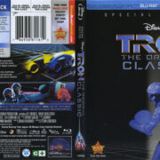 Tron (2011) R1 Blu-Ray Cover & labels