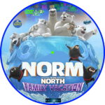 Norm of the North: Family Vacation (2020) R2 Custom DVD Label