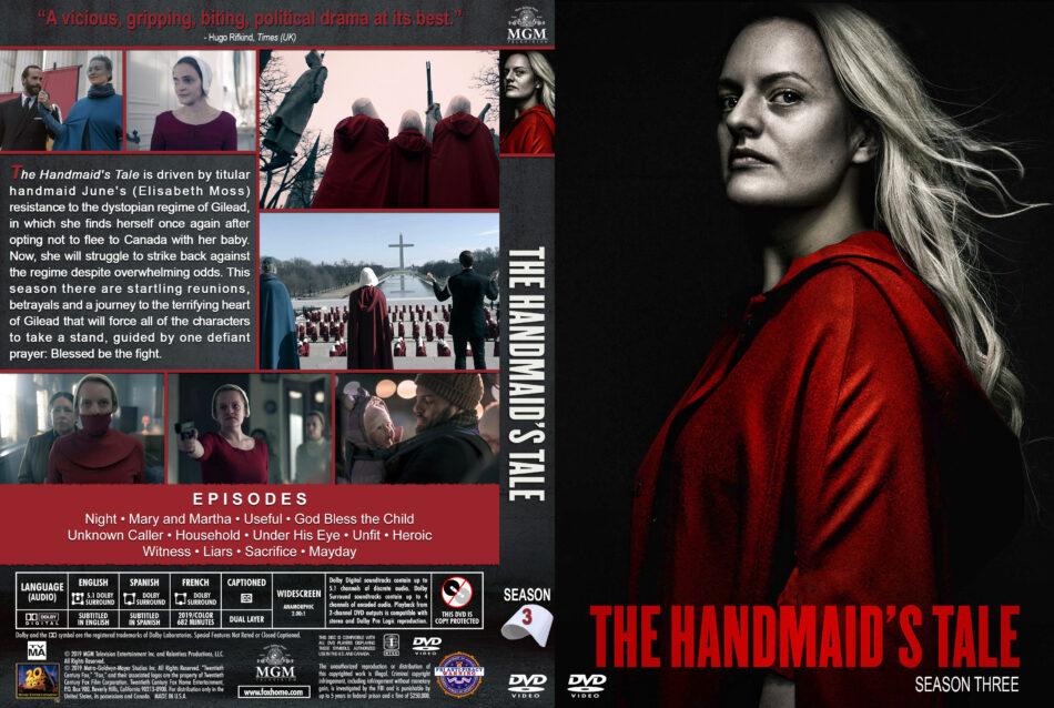 The Handmaid S Tale Season 3 2019 R1 Custom Dvd Cover Labels Dvdcover Com