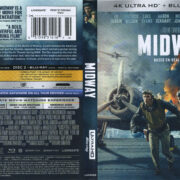 Midway (2020) RA 4K UHD Blu-Ray Cover & Labels