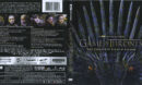 Game Of Thrones: Season 8 (2019) R1 4K UHD Blu-Ray Cover & Labels