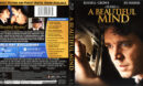 A Beautiful Mind (2001) R1 Blu-Ray Cover & Label