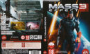 Mass Effect 3 (2012) CZ PC DVD Covers & Labels