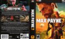 Max Payne 3 (2012) US PC DVD Cover & Labels