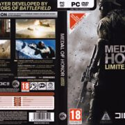 Medal of Honor - Limited Edition (2010) CZ PC DVD Cover & Label