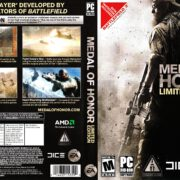 Medal of Honor - Limited Edition (2010) US PC DVD Cover & Label