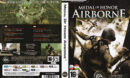 Medal of Honor: Airborne (2007) CZ PC DVD Cover & Label
