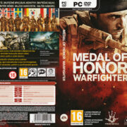 Medal of Honor: Warfighter (2012) CZ PC DVD Cover & Labels