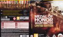 Medal of Honor: Warfighter - Limited Edition (2012) CZ PC DVD Cover & Labels