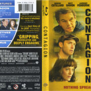Contagion (2011) R1 Blu-Ray Cover & Labels
