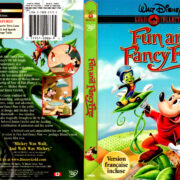 FUN AND FANCY FREE (1947) DVD Cover & Label
