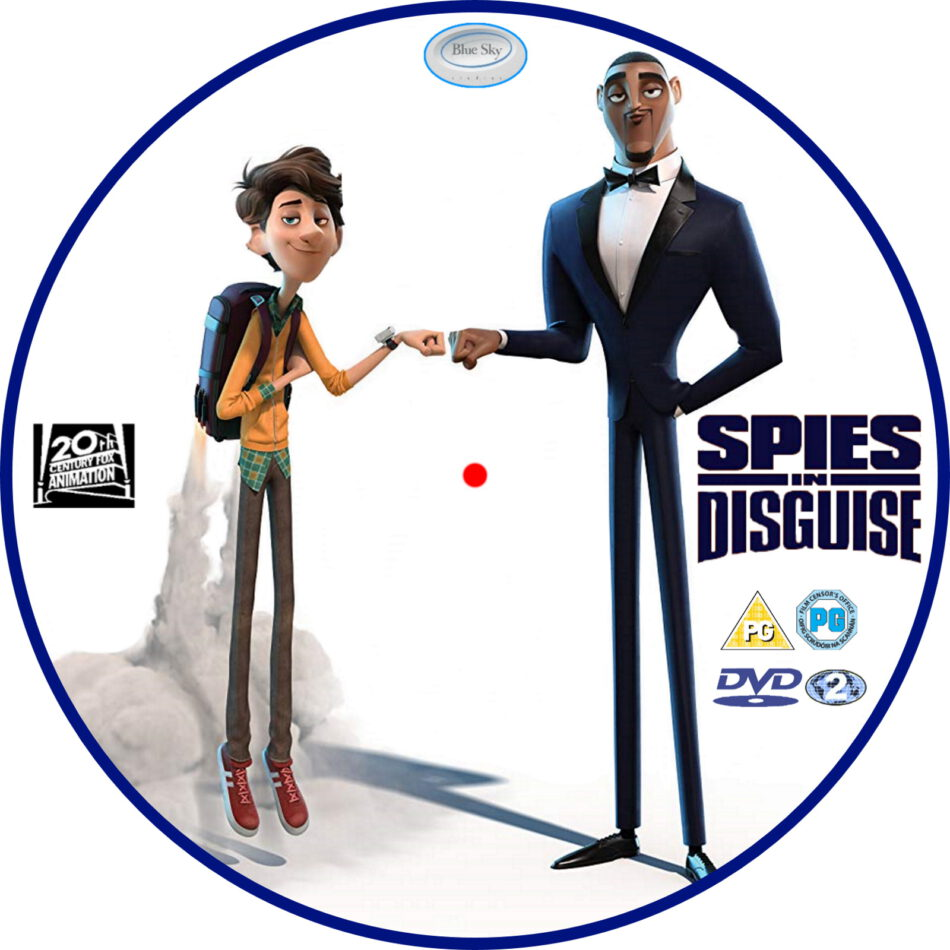 Spies In Disguise 2019 R2 Custom Dvd Label Dvdcover Com