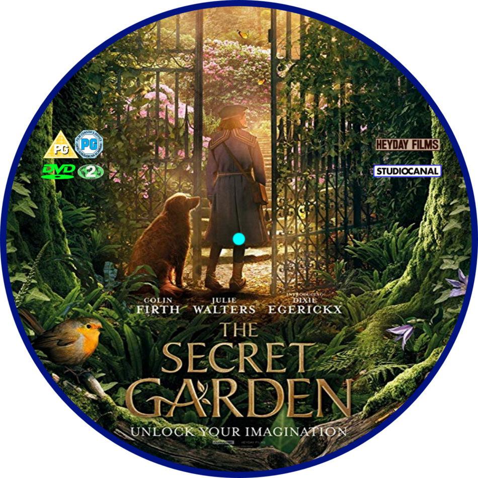 The Secret Garden (2020) R2 Custom DVD Label - DVDcover.Com