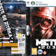 METRO 2033 (2010) CZ/SK PC DVD Cover & Label