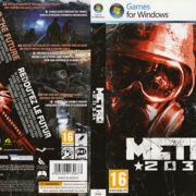 METRO 2033 (2010) EU PC DVD Cover & Label