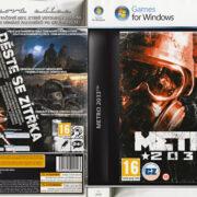 METRO 2033 - Platinum Edition (2010) CZ/SK PC DVD Cover & Label