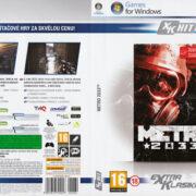 METRO 2033 - Exktra Klasika (2010) CZ/SK PC DVD Cover & Label