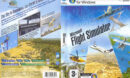 Microsoft Flight Simulator X (2006) EU PC DVD Cover & Labels