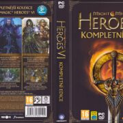 Might & Magic Heroes VI: Complete Edition (2013) CZ PC DVD Cover & Labels