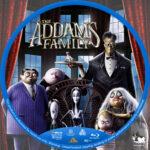 The Addams Family R1 Custom Blu-Ray Label