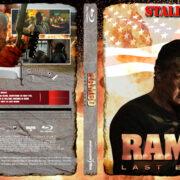 Rambo: Last Blood (2019) R2 german Custom Blu-Ray Cover