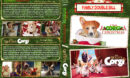 A Very Corgi Christmas / The Queen's Corgi Double Feature R1 Custom DVD Cover