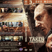 Taken Collection R1 Custom DVD Cover