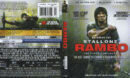 Rambo: The Fight Continues (2008) RA 4K Blu-Ray UHD Cover & Labels