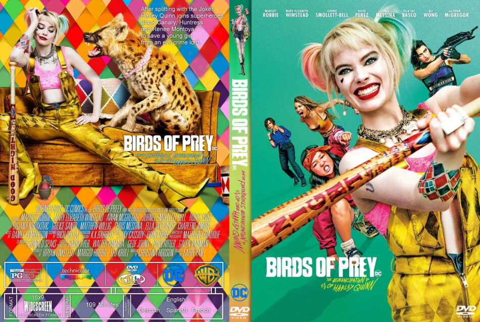 Birds Of Prey And The Fantabulous Emancipation Of One Harley Quinn 2020 R1 Custom Dvd Cover Dvdcover Com