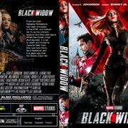 Black Widow (2020) R1 Custom DVD Cover