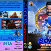 Sonic the Hedgehog (2020) RB Custom Bluray Cover and Label