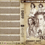Johnny Depp Filmography - Set 2 (1991-1994) R1 Custom DVD Cover