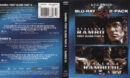 Rambo: First Blood Part II & Rambo III (1985-1988) Blu-Ray Cover & Labels