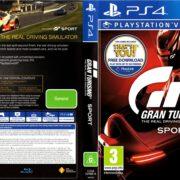 Gran Turismo Sport PS4 Cover