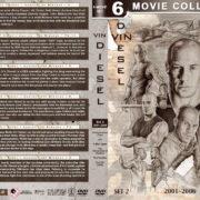 Vin Diesel Filmography - Set 2 (2001-2006) R1 Custom DVD Cover