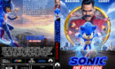 Sonic: The Hedgehog (2020) R1 Custom DVD Cover & Label