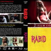 Rabid Double Feature R1 Custom Blu-Ray Cover