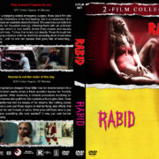 Rabid Double Feature R1 Custom DVD Cover