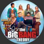 Big Bang Theory Season 12 Custom DVD Labels