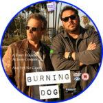 Burning Dog (2020) R2 Custom DVD Label